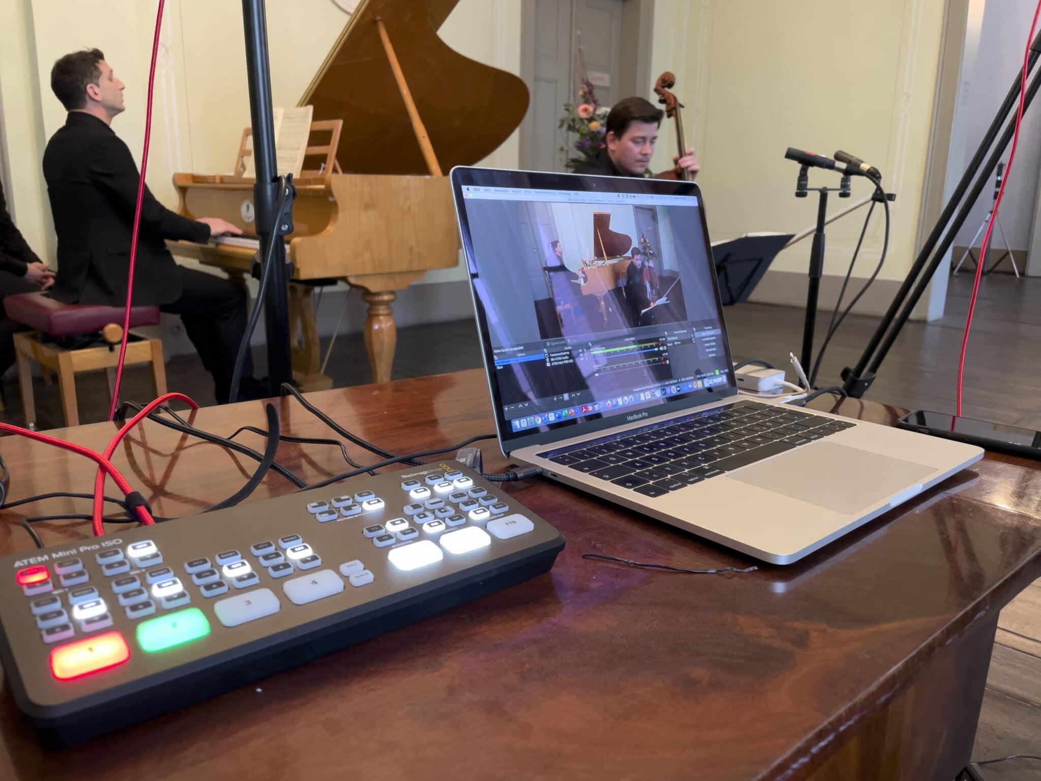 Livestreaming Mendelssohn Haus